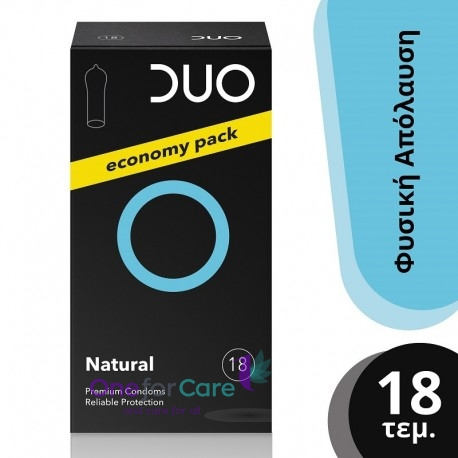 Duo Natural Economy Pack Προφυλακτικά 18τμχ