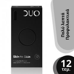 Duo Skin to Skin Προφυλακτικά Λεπτά 12 τμχ