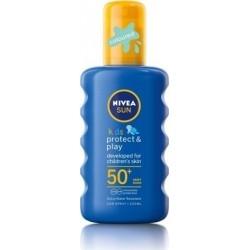 Nivea Sun Kids Protect & Play Sun Coloured Spray...