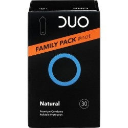 Duo Natural Family Pack Προφυλακτικά Κανονικού...