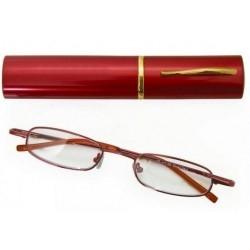 Γυαλιά Πρεσβυωπίας +1.00 Βαθμού Μεταλλικά Κόκκινα με...