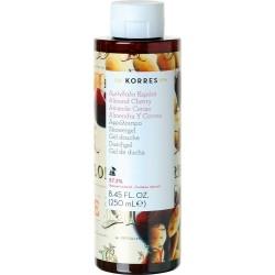 Korres Showergel Almond Cherry Αφρόλουτρο Αμύγδαλο...