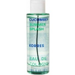 Korres Cucumber Splash Eau de Cologne Αναζωογονητικό...