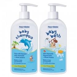 Frezyderm Πακέτο Baby Shampoo Απαλό Βρεφικό Σαμπουάν...