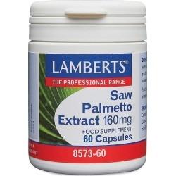 Lamberts Τιτλοδοτημένο Εκχύλισμα Saw Palmetto 60caps