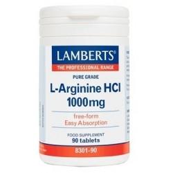 Lamberts L-Arginine HCl 1000mg Ελεύθερης Μορφής...