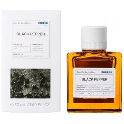 Korres Black Pepper Eau De Toilette Ανδρικό Άρωμα 50ml