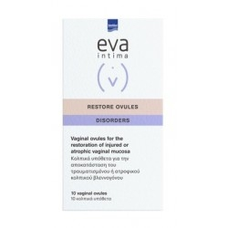 Intermed Eva Restore Ovules Κολπικά Υπόθετα με...