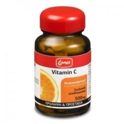 Lanes Vitamin C 500mg Βιταμίνη C Σταδιακής...