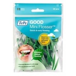 Tepe Mini Flossers Οδοντικό Νήμα με Λαβή 32τμχ