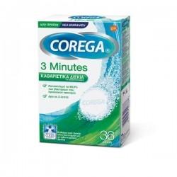 Corega 3 Minutes Καθαριστικά Δισκία για Τεχνητή...