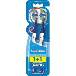 Oral-B Complete Clean 5 Way 1+1 Medium...