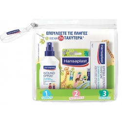 Hansaplast Junior Kit Αντισηπτικό Spray για τις...