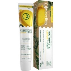 Nordics Organic & Whitening Toothpaste Lemon +...