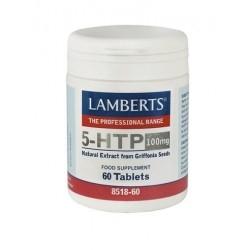 Lamberts Αμινοξύ Τρυπτοφάνη σε Μορφή 5-HTP 100mg 60Tabs