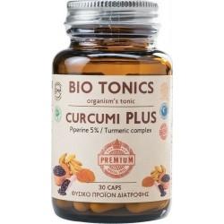 Bio Tonics Curcumi Plus Φυσικό Συμπλήρωμα Διατροφής...