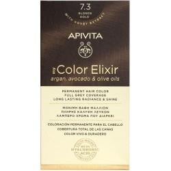 Apivita My Color Elixir Βαφή Μαλλιών 7.3 Ξανθό Μελί