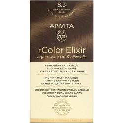 Apivita My Color Elixir Βαφή Μαλλιών 8.3 Ξανθό...
