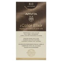 Apivita My Color Elixir Βαφή Μαλλιών 8.0 Ξανθό Ανοιχτό