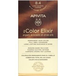 Apivita My Color Elixir Βαφή Μαλλιών 8.4 Ξανθό...