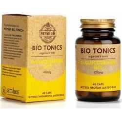 Bio Tonics Premium D-Glucosamine HCL 450mg 40caps