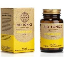 Bio Tonics Premium Vitamin D3/K2 4000IU 40caps
