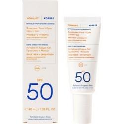 Korres Yoghurt Sunscreen Αντηλιακή Κρέμα - Gel για...