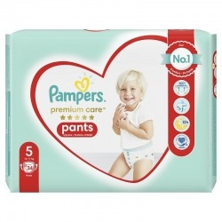 Pampers Premium Care Pants No 5 (12-17Kg) Βρεφικές...