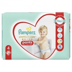 Pampers Premium Care Pants No 4 (9-15Kg) Βρεφικές...