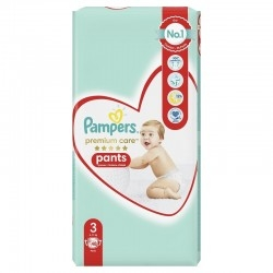 Pampers Premium Care Pants No 3 (6-11Kg) Βρεφικές...