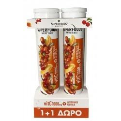 Superfoods VitC 1000mg με Hippophaes & Acerola...