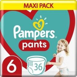 Pampers Maxi Pack Pants Πάνες-Βρακάκι No 6 (15+kg)...