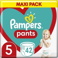 Pampers Maxi Pack Pants Πάνες-Βρακάκι No 5 (12-17kg)...