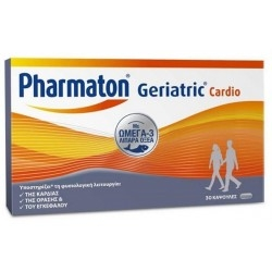 Pharmaton Geriatric Cardio με Omega 3 Λιπαρά οξέα -...