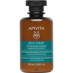 Apivita Oil Balance Shampoo Σαμπουάν για την Ρύθμιση...