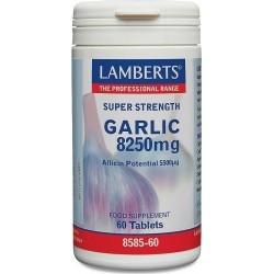 Lamberts Garlic 8250mg Υψηλής Ισχύος 60Tabs