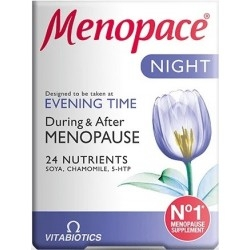 Vitabiotics Menopace Night Συμπλήρωμα Διατροφής για...