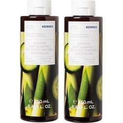 Korres Body Cleanser Αφρόλουτρο Αγγούρι Bamboo 250ml...