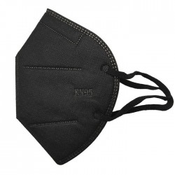 Μάσκα Προστασίας FFP2 Μαύρη 1τμχ