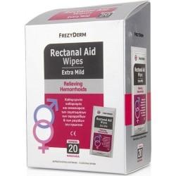 Frezyderm Rectanal Aid Wipes Extra Mild Μαντηλάκια...