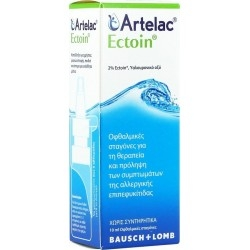 Bausch & Lomb Artelac Ectoin Drops Οφθαλμικές...