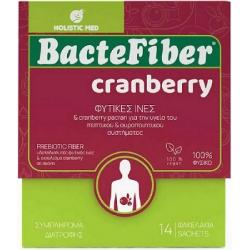 Holistic Med BacteFiber Cranberry Συμπλήρωμα...