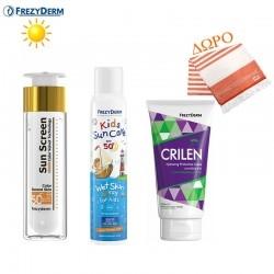 Frezyderm Summer Box 4  Color Velvet SPF50 +Kids Sun...
