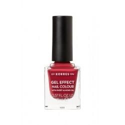 Korres Gel Effect Nail Colour 52 Eternity Red Rose...