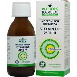 Doctor's Formulas Vitamin D3 2500IU Λιποσωμιακή...