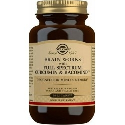 Solgar Brain Works with Full Spectrum Curcumin &...
