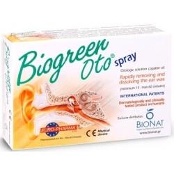 Bionat Pharm Biogreen Oto Spray Ωτικό Διάλυμα 13ml