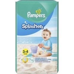 Pampers Splashers Αδιάβροχες Βρεφικές Πάνες-Μαγιό No...