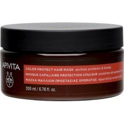 Apivita Color Protect Hair Mask Μάσκα Προστασίας...
