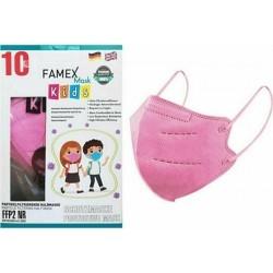 Famex Mask Kids FFP2 NR Παιδική Μάσκα Προστασίας Ροζ...